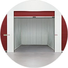 Dry and clean self-storage unit