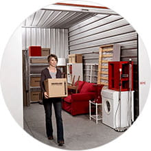 Self-storage for personal use